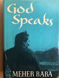 GOD SPEAKS BY MEHER BABA SECOND EDITION REVISED AND ENLARGED 1973 RARE