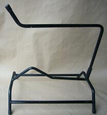 Flacher Sattelständer Sattelbock aus Metall schwarz