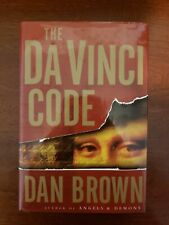 The Da Vinci Code by Dan Brown – Hcdj – First Edition First Printing - 2003