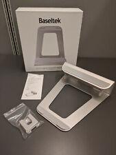 Baseltek 2-in-1 Aluminum Laptop Stand for Macbook, Chromebook, Samsung, HP, Dell