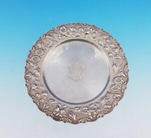 "Rose by Stieff Sterling Silver Bread and Butter Plate 7"" Diameter #225 (#3521)"