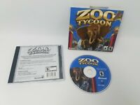 Zoo Tycoon PC Game Good Pre Owned Condition Tested and Works!