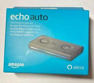 Echo Auto - Pon Alexa en el coche. Altavoz inteligente de Amazon para automóvil