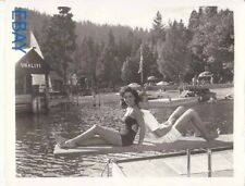 Elizabeth taylor busty barefoot Montgomery Clift RARE Photo A Place in the Sun