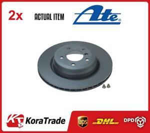 2 x ATE BRAKE DISC SET 240122-02361