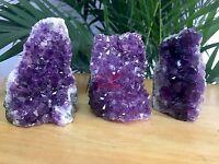 "1 2.3"" Amethyst Geode Cluster Amethyst Crystal Quartz Specimen Chakra Stone."