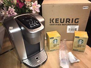 Keurig K-Elite Single Serve K-Cup Pod Programmable Coffee Maker - Silver