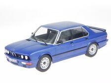BMW e28 M535i 1987 blue modelcar 183267 Norev 1:18