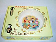 Bunnykins Royal Doulton Nursery Set Plate and Spoon set