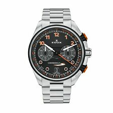 Edox 09503 3NOM NOO Men's Chronorally Black Quartz Watch