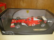Ferrari F-2002 Rubens Barrichello Formula  1  Hotwheels 1:18 new with box