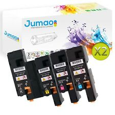 8 Toners type Jumao compatibles pour Dell Multifunction Color Printer C1765nfw