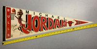 Vintage Michael Jordan Chicago Bulls Pennant Collectible MJ 23 NBA BasketballOld