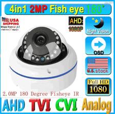 180 Degree Wide Angle Fish eye IR 2.0MP 1080P AHD Camera Dome Home Security CAM