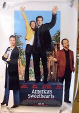 "America's Sweethearts - 27""x40"" 2 Sided ORIGINAL Movie Poster - Julia Roberts"