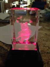 Pooh Bear Light Up Crystal Doesn't Come With Light