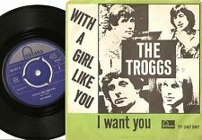 THE TROGGS WITH A GIRL LIKE YOU I WANT YOU NORWAY DANISH 45+PS `66 MOD FREAKBEAT