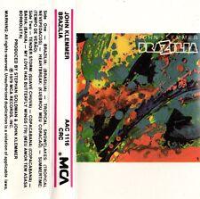 """JOHN KLEMMER """"BRAZILIA"""" CASSETTE 1979 mca"""