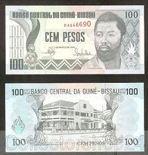 Guinea-Bissau 100 Pesos 1990 Unc pn 11