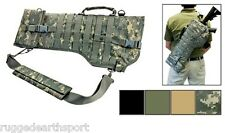 NEW MOLLE Shoulder Sling Tactical Rifle Scabbard Case * ACU DIGI CAMO * NCSTAR