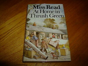 MISS READ-AT HOME IN THRUSH GREEN-1ST-1985-SIGNED-HB-NF-V RARE