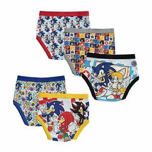 Sonic The Hedgehog 5 Pack Boys Briefs Underwear