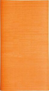 Mitteldecke Uni Orange, 80 x 80 cm aus Airlaid (stoffähnlich, samtweicher Stoff)