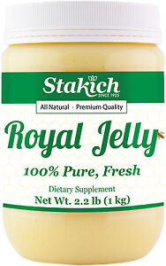 1kg  2.2lb PURE FRESH ROYAL JELLY 100% NATURAL PREMIUM QUALITY BEE HIGH POTENCY