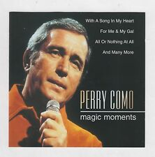PERRY COMO  =  {CD - 21 TRACKS}  =  MAGIC MOMENTS  =