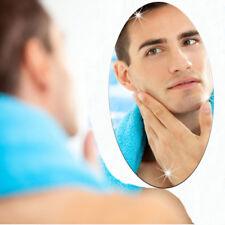 LK _ réfléchissant ovale miroir autocollant en Acrylique Mural Amovible