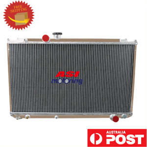 3Row Radiator FOR 1996-2000 TOYOTA MARK II/Chaser JZX100 1JZ-GTE 2.5L L4 MT