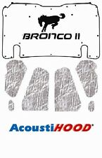 1983 1990 Ford Bronco II Under Hood Cover with F-058 Bronco II Horse