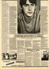 5/9/81PN04 ARTICLE & PICTURE(S) PAUL WELLER
