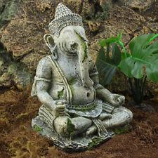 Fish Tank Decoration Aquarium Resin Ornaments Indian Ganesh Buddha Statue