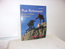 Peak Performance : Success in College and Beyond with online access Card by Shar