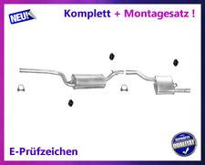 Auspuffanlage Ford Focus Turnier 1.6 16V Bj.98-04 Kombi Auspuff Montagesatz