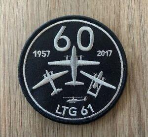 Patch, Ärmelabzeichen, Abzeichen, Luftwaffe, Transall C-160, LTG 61 Penzing