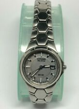 Citizen Eco Drive Gracious Ladies Watch E011-S049601 With Date Function
