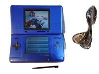 Nintendo DS Electric Blue Handheld System plus Mario Kart