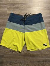 Billabong Board Shorts Mens Size 34 Platinum X Stretch