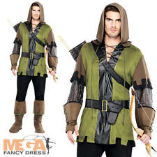 Prince of Thieves Mens Fancy Dress Medieval Fairytale Book Week Adults Costume