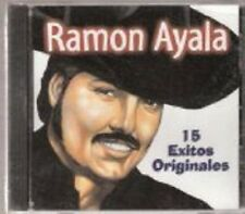 "Ramon Ayala ""15 Exitos Originales"" AUDIO CD Album, Roy, Spanish"