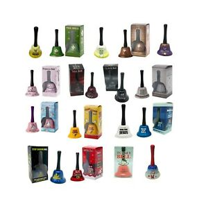 Large Bell (Ring for Tea, Wine,Gin, Prosecco,Coffee, Beer, Whisky, Santa etc )