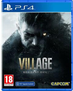 PS4/ps5 - Resident Evil Village - Neuf - Sous Blister - Livraison Gratuite -