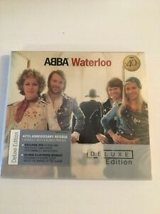 ABBA Waterloo Deluxe Edition CD & DVD 40th Anniversary 2014 New & Sealed