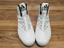 Adidas Ironskin White and Chrome B72701 Cleats Size: 13.5. New!