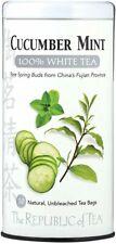 Cucumber Mint White Tea, The Republic of Tea, 50 tea bag