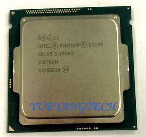 SR1K6 Intel Pentium Processor G3240 3M 3.10 GHz 2-Cores Desktop CPU LGA 1150