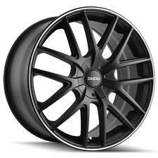 "4-Touren TR60 16x7 5x110/5x115 +42mm Matte Black/Ring Wheels Rims 16"" Inch"
