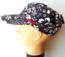 Mütze Gr.55 Maximo NEU 100% Baumwolle UV 50+ blau weiß Blumen Cap kinder sommer